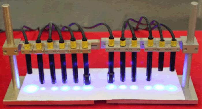 UV-LED照射头