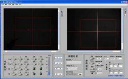 双光路中心偏测量仪测量软件图示